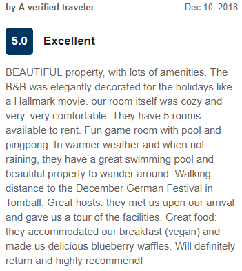 Expedia Guest Review - Excellent - 5 out of 5 Stars