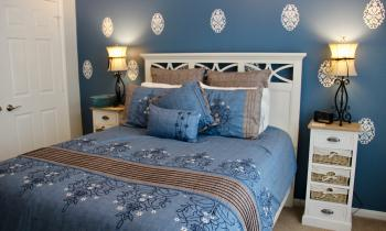 The Bluebonnet Room makes up part of the Lone Star Suite.